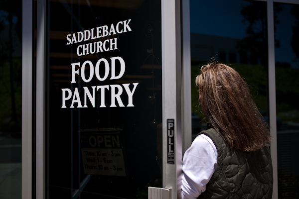 Saddleback Church Food Pantry | AFoodCentricLife.com