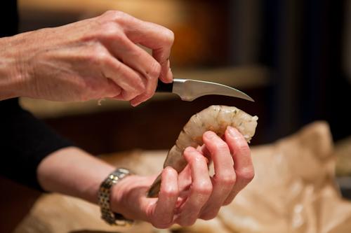 how to devein shrimp | AFoodCentricLife.com