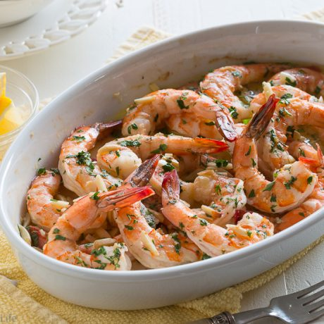 lemon shrimp scampi | AFoodCentricLife.com