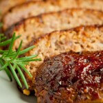Barbecue Glazed Meatloaf | AFoodCentricLife.com