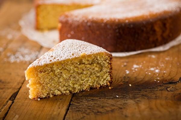 Lemon Almond Polenta Cake (Gluten-Free)