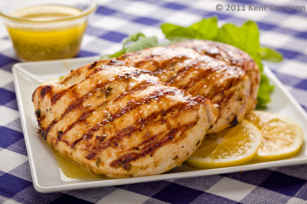 Grilled Lemon Mint Chicken Breast | A Food Centric Life