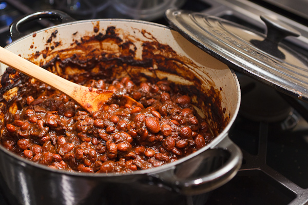 molasses baked beans | AFoodCentricLife.com