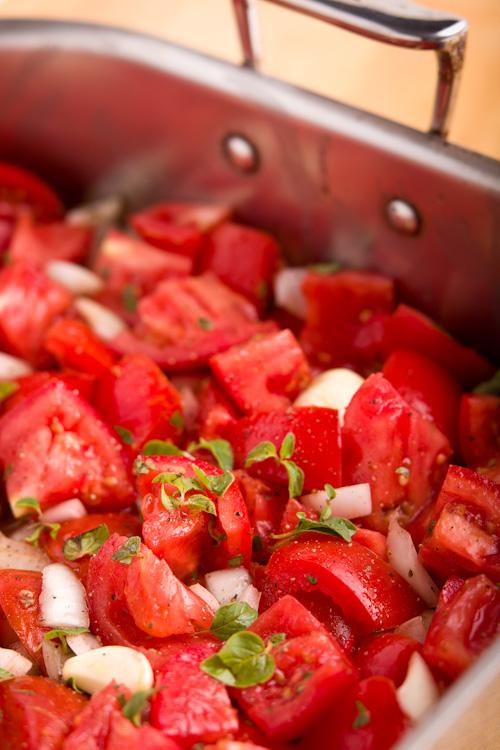 roasted tomato marinara sauce|AFoodCentricLife.com