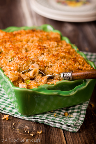Turkey Tetrazzini Casserole (or Chicken) — A Food Centric Life