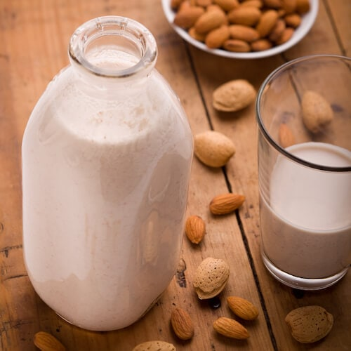 Homemade Almond Milk | AFooDCentricLife.com