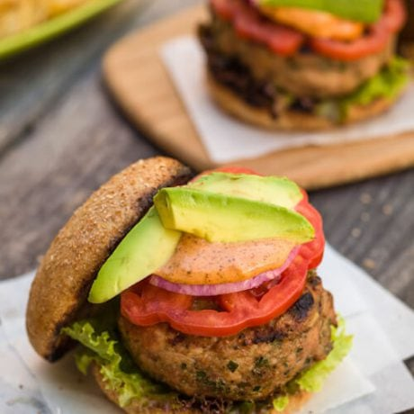 turkey burgers | afoodcentriclife.com