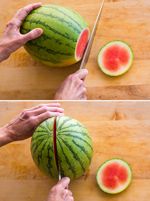 how to cut a watermelon | afoodcentriclife.com