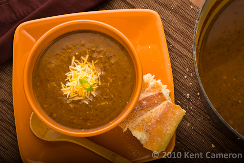 black bean pumpkin soup | AFoodCentricLife.com