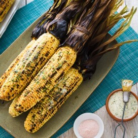 Grilled Corn on the Cob | AFoodCentricLife.com
