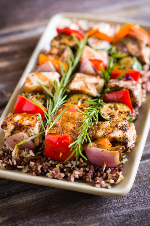 Grilled Swordfish Kabobs With Vegetables A Food Centric Life