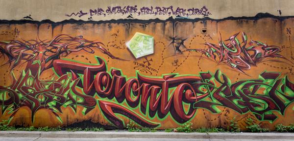Toronto grafitti