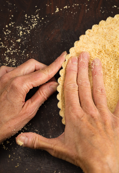 Almond Coconut Tart Crust|AFoodCentricLife.com