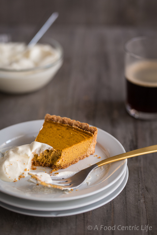 Spiced Pumpkin Tart