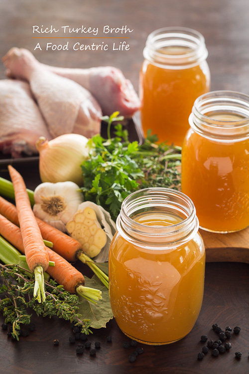 RIch Turkey Broth