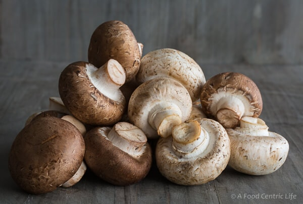 pile of mushrooms | afoodcentrliclife.com