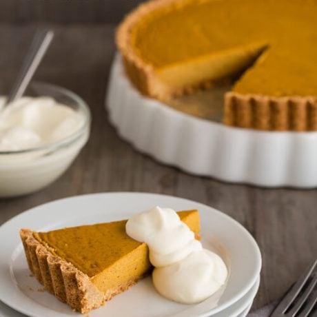 pumpkin tart | AFoodCentricLife.com