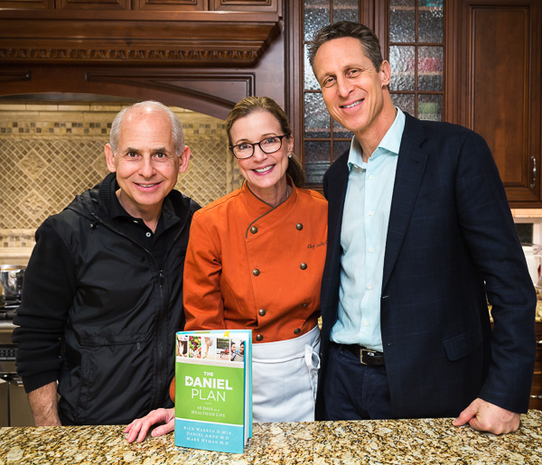 Dr Daniel Amen, Chef Sally Cameron, Dr. Mark Hyman