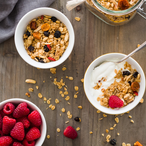 Maple Roasted Granola | Afoodcentriclife.com