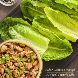 Asian Turkey Lettuce Wraps | AFoodCentricLife.com
