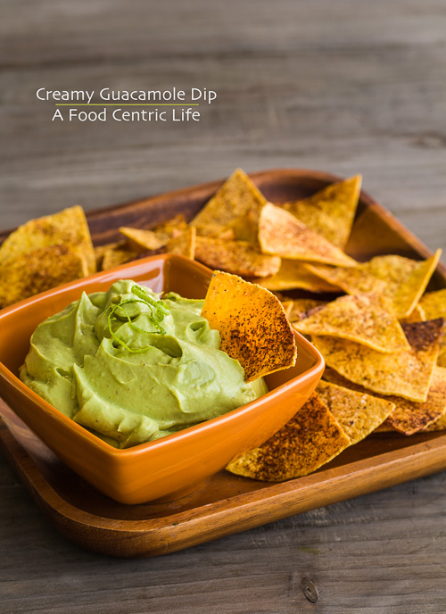 Quick and Creamy Guacamole Dip | A Food Centric Life