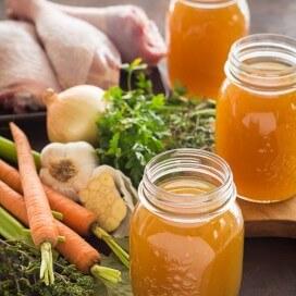 Homemade Turkey Broth|AFoodCentricLife.com
