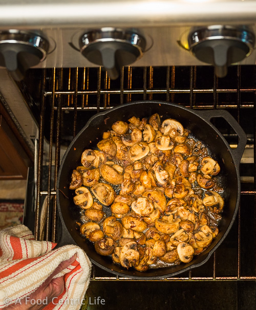 steakhouse roasted mushrooms   AFoodCentricLife.com