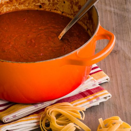 30 Minute Pasta Sauce|AFoodCentricLife.com