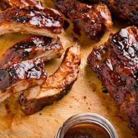 Oven Baby Back Ribs|AFoodCentricLife.com