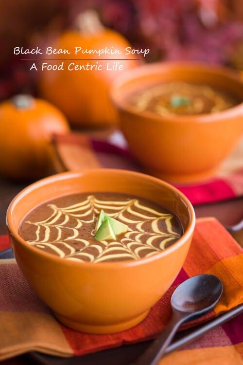black bean pumpkin soup   AFoodCentricLife.com