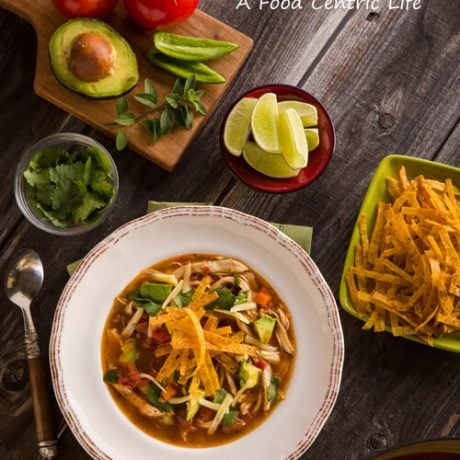 chicken tortilla soup | afoodcentriclife.com