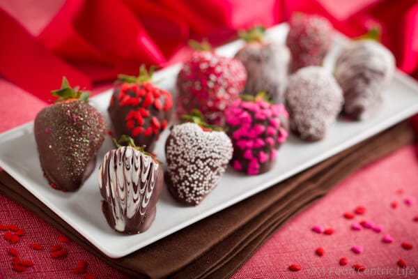 Chocolate Dipped Strawberries|AFoodCentricLife.com