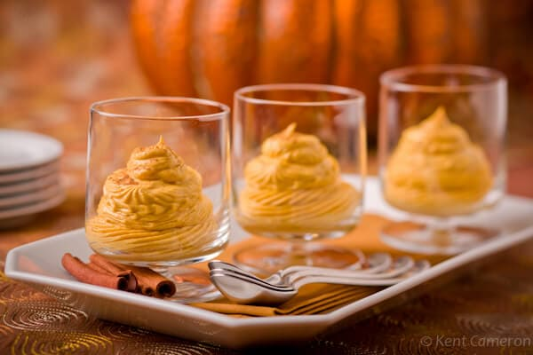 Creamy Pumpkin Mouse Dairy Free