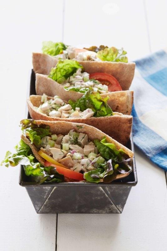 lemon chicken salad |AFoodCentricLife.com