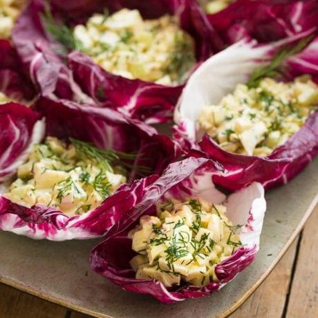 Deviled Egg Lettuce Wraps | AFoodCentricLife.com