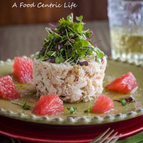 Dungeness crab salad | afoodcentriclife