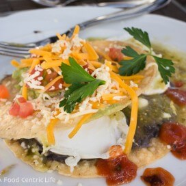 Huevos Rancheros. Ojai Valley Inn and Spa