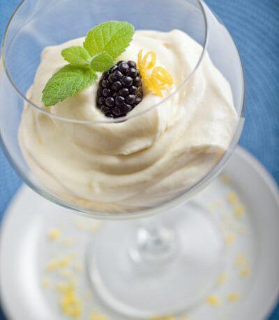 Italian Lemon mousse | afoodcentriclife.com