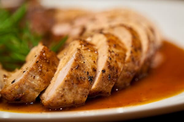 Roast Pork Tenderloin with Maple Glaze|AFoodCentriclife.com