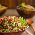 quinoa tabouleh salad | AFoodCentricLife.com