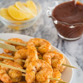 roasted garlic shrimp | AFoodCentricLife.com