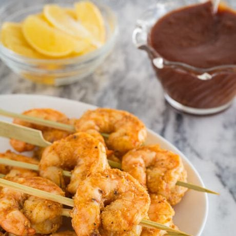 roasted garlic shrimp | AFoodCentricLife.com