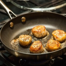 seared scallops | AFoodCentricLife.com