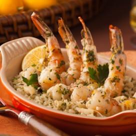 Lemon Shrimp Scampi|AFoodCentricLife.com