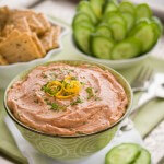 Easy smoked salmon dip|AFoodCentricLife.com