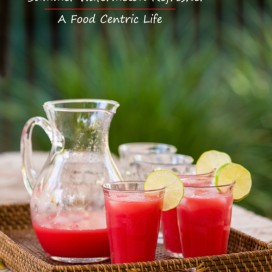 watermelon lime juice|AFoodCentricLife.com