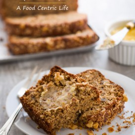 The Best Banana Bread (Gluten Free)