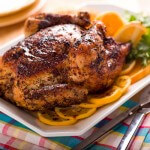 whole roast chicken   afoodcentriclife.com
