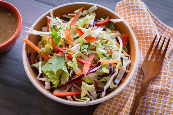 Asian Coleslaw |AFoodCentricLife.com