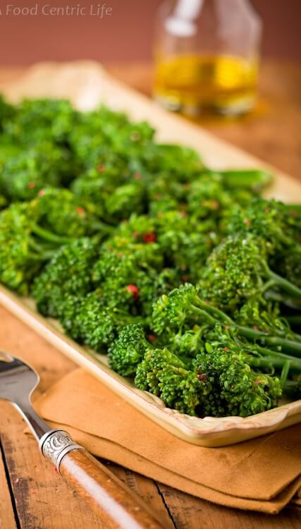 Basic Broccolini|AFoodCentricLife.com